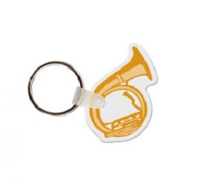 Tuba Soft Vinyl Key Tag