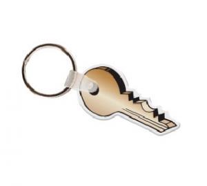 3D Key Soft Vinyl Keychain