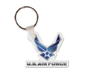 Air Force Logo Soft Vinyl Keychain