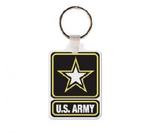 Army Logo Soft Vinyl Keychain