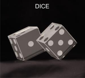 Dice Shaped Acrylic Award/Paperweight