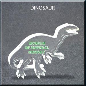 Dinosaur Shaped Acrylic Award/Paperweight