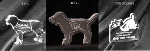 Dog Shaped Acrylic Award/Paperweight