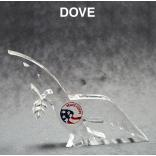 Dove Shaped Acrylic Award/Paperweight