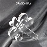 Dragonfly Shaped Acrylic Award/Paperweight