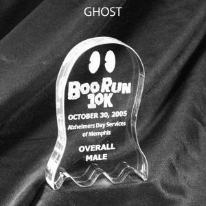 Ghost Shaped Acrylic Award/Paperweight
