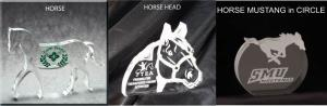 Horse Shaped Acrylic Award/Paperweight