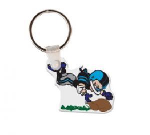 Football Player Soft Vinyl Keychain