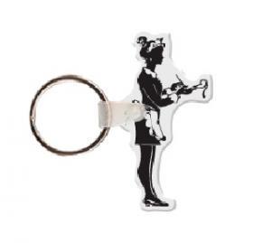 Waitress Soft Vinyl Keychain