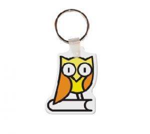Owl 2 Soft Vinyl Key Tag