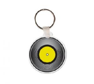 Record Soft Vinyl Key Tag