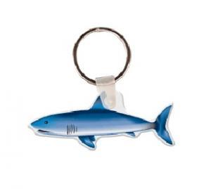 Shark Soft Vinyl Key Tag