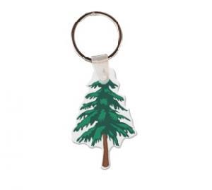 Tree Soft Vinyl Key Tag