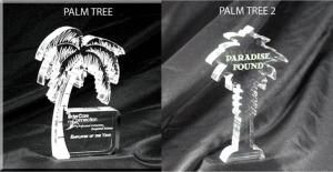 Palm Tree Shaped Acrylic Award/Paperweight