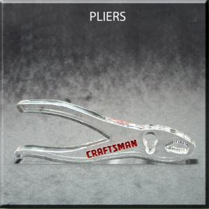 Pliers Shaped Acrylic Award/Paperweight