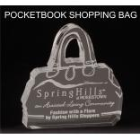 Pocketbook/Purse Shaped Acrylic Award/Paperweight