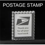 Postage Stamp Shaped Acrylic Award/Paperweight