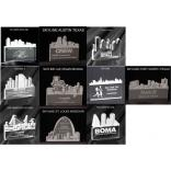 City Skylines Shaped Acrylic Award/Paperweight