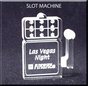 Slot Machine Shaped Acrylic Award/Paperweight