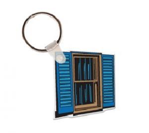 Window Vinyl Key Tag