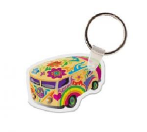 VW Van Soft Vinyl Keychain