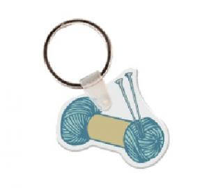 Yarn Soft Vinyl Keychain