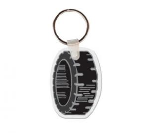 Tire Soft Vinyl Keychain