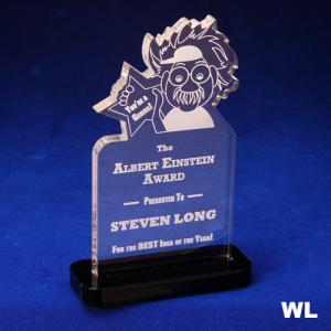 Einstein Shaped Acrylic Award/Paperweight