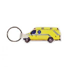 Ambulance #3 Soft Vinyl Keychain