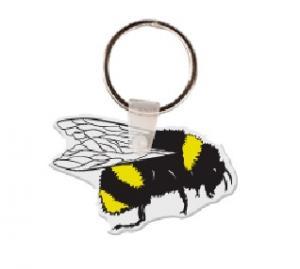Bee Soft Vinyl Keychain