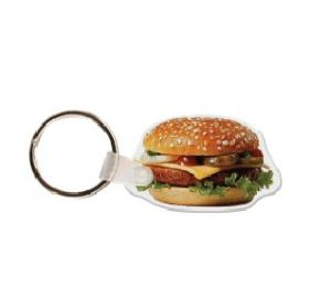 Cheeseburger #2 Soft Vinyl Keychain