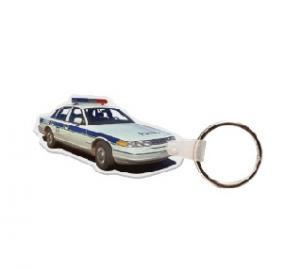 Police Car #2 Soft Vinyl Keychain