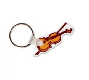 Violin Soft Vinyl Keychain