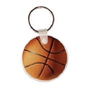 Basketball Soft Vinyl Keychain
