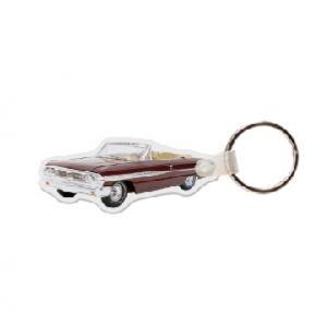 Convertible Impala Soft Vinyl Keychain
