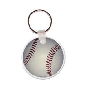Baseball Soft Vinyl Keychain