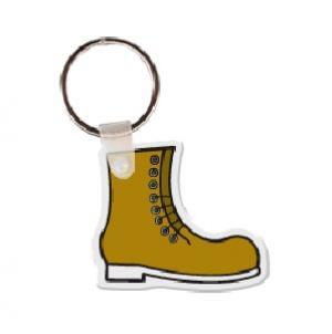 Work Boot Soft Vinyl Keychain