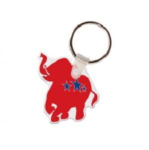 Elephant Soft Vinyl Keychain