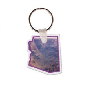 Arizona Soft Vinyl Keychain