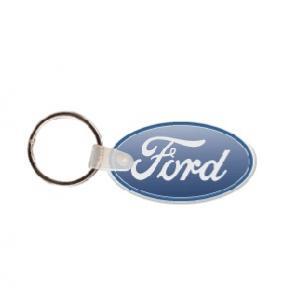 Ford Logo Soft Vinyl Keychain
