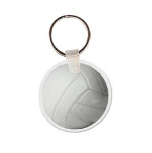 Volleyball Soft Vinyl Key Tag