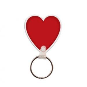 Heart #2 Soft Vinyl Key Tag