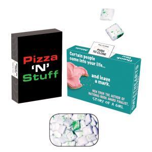 Sugar Free Gum in 4 Color Process Box