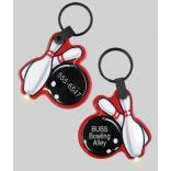 Bowling Shaped Key Tag Light
