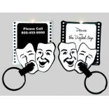 Theatre Masks Key Tag Light