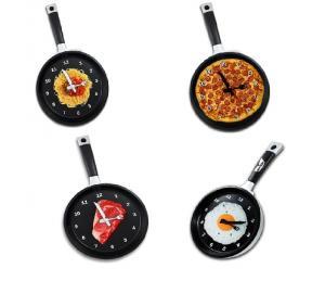 Assorted Frying Pan Wall Clock