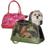 Trendy Camouflage Pet Carrier
