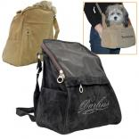 Synthetic Suede Bag Pet Carrier
