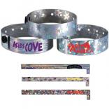Metallic ID Wristband
