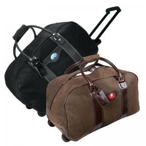 Logo Duffel Bag On Wheels
